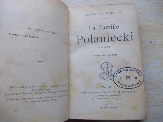 Livro La Famille Polaniecki - Henryk Sienkiewicz - Roman