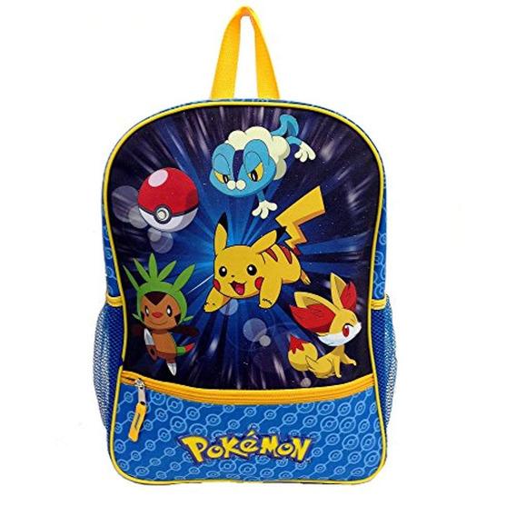 Pokemon Pikachu Large Backpack 16 New
