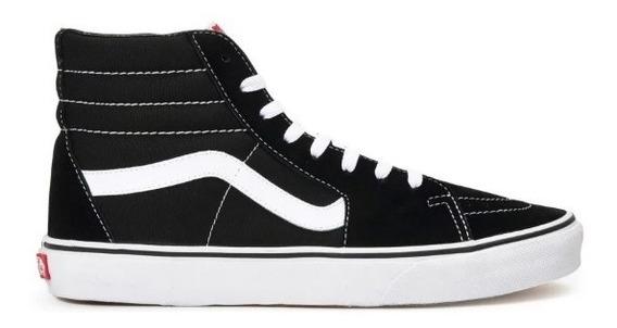 Tênis Vans Sk8-hi Black White 13086 Original