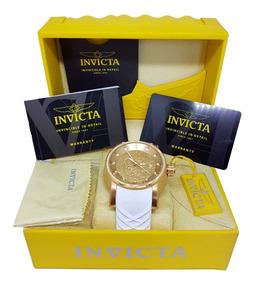 Relógio Invicta 19546 Yakuza S1 Automatico Branco Original