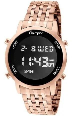 Relógio Feminino Digital Rose Champion Original Ch48091z