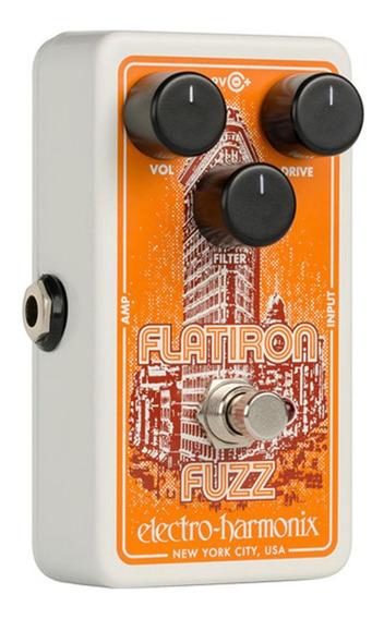 Pedal Electro-harmonix Flatiron Fuzz Overdrive Guitarra