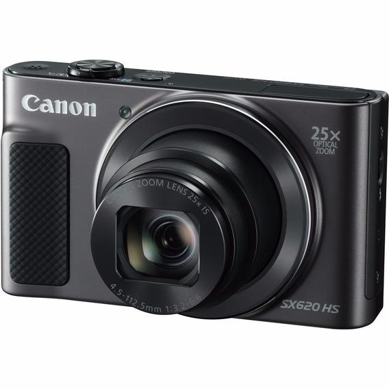 Câmera Digital Canon Powershot Sx620 Hs Full Hd 20.2mp Wifi