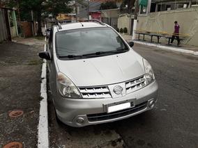 Livina Nissan 1.6 Unico Dono C/ Nota Fiscal Da Fabrica