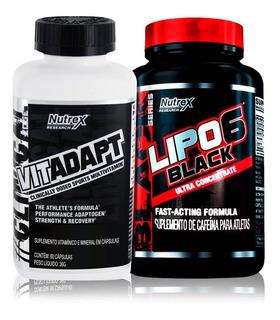 Oferta - Kit Lipo 6 Black 60 Caps + Vitadap 60 Caps - Nutrex