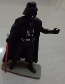 Miniatura Chumbo Darth Vader Oficial Lucasfilm S/ Fasciculo