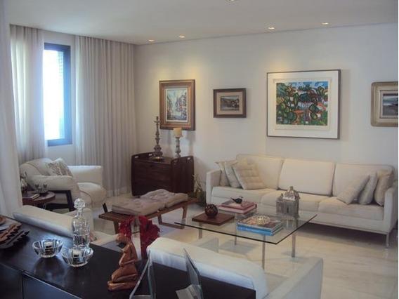Apartamento Com 4 Quartos Para Comprar No Sion Em Belo Horizonte/mg - 1311