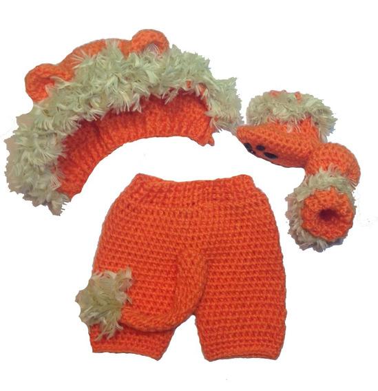 Gorro Newborn Bebé Tejido Al Crochet