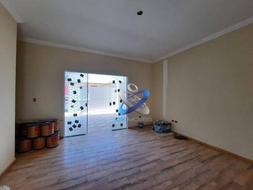 Sobrado Com 3 Dormitórios À Venda, 89 M² Por R$ 228.000,00 - Jardim São José - Caçapava/sp - So0664