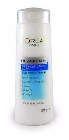 Crema Desmaquillante Suave Hidra-total 5 200 Ml