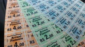 Fichas De Bar Consumação Festa Tickets Festa Kit 5000 Und