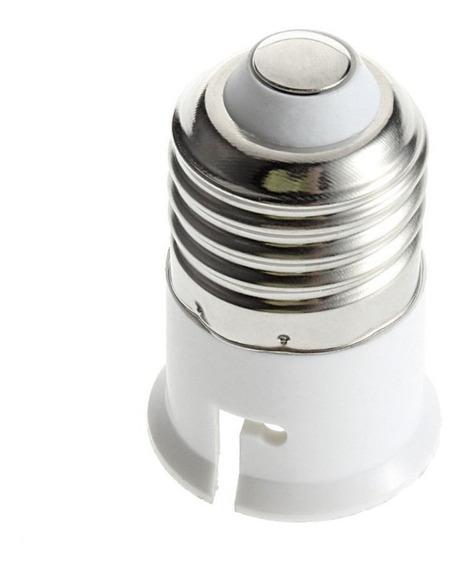E27 Para B22 Soquete Portátil Luz Lâmpada Base Profissiona