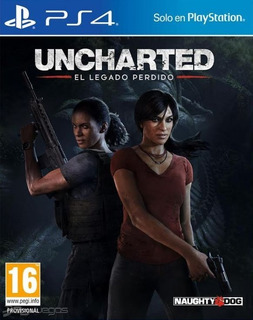 Uncharted The Lost Legacy Blu Ray Fisico