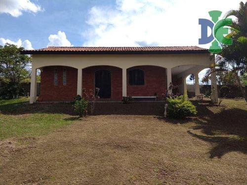 Chácara Com 2 Dormitórios À Venda, 1150 M² Por R$ 390.000,00 - Veraneio Irajá - Jacareí/sp - Ch0072