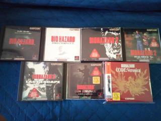 Colección Biohazard (resident Evil) Playstation Y Dreamcast