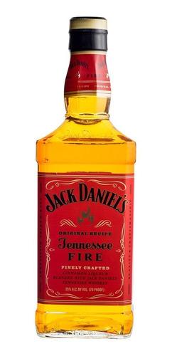 Imagen 1 de 6 de Whisky Jack Daniels Tennessee Fire 1 Litro Canela