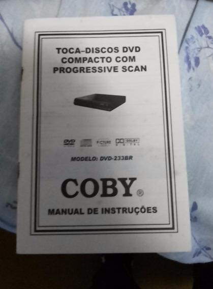 Manual De Instruções Do Dvd Coby Modelo: 233br