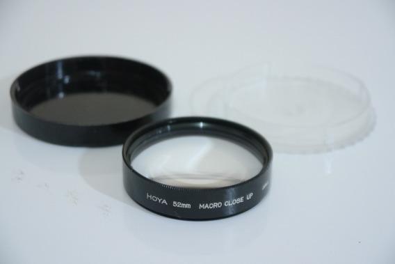 Filtro Hoya 52mm Macro Close Up +10 Japan No Estojo