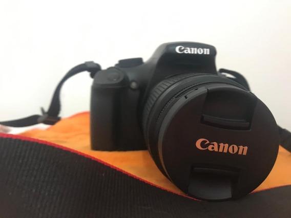 Câmera Cânon T3 Fotográfica Digital Profissional Acessórios