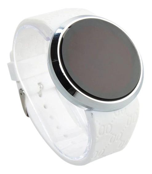 Relógio Digital Masculino Pulseira De Silicone
