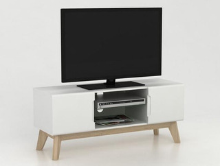 Rack De Tv Escandinavo Nordico 118x41cm!