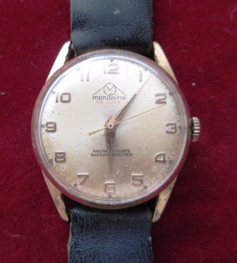 C1205 Relógio Mondaine De Luxe, Sky Hawk, À Corda, Suiço, M