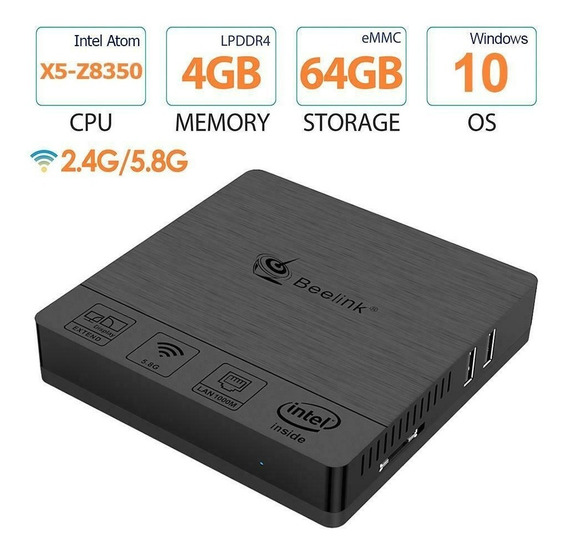 Mini Pc Beelink Bt3 Pro Intel Windows 10 4/64gb Nfe