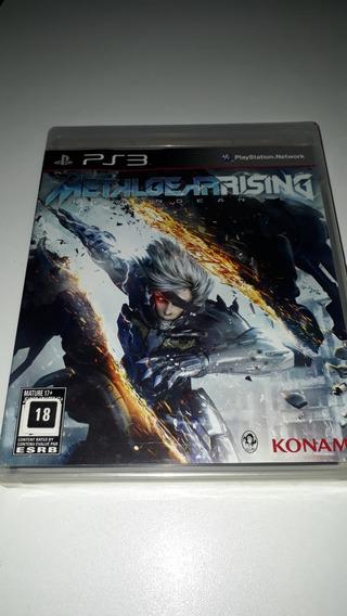 Playstation 3 Metal Gear Rising Revengeance Novo Lacrado