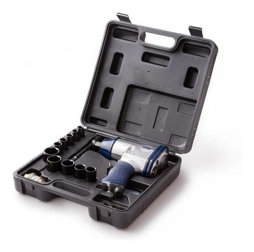 Llave Pistola Impacto Neumática Enc. 1/2 Kit 17 Pcs Bremen