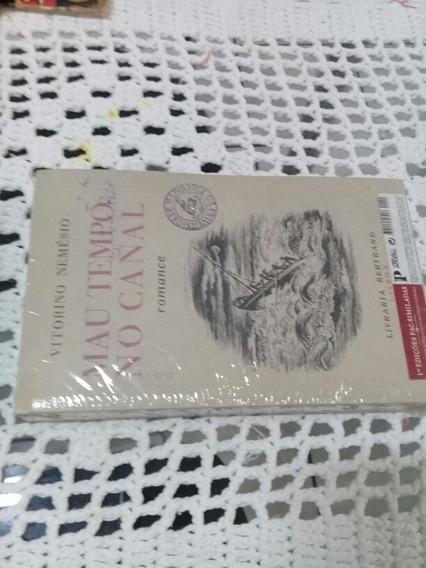 Livro Romance Português Mau Tempo No Canal.novo!