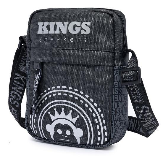 Shoulder Bag Bolsa Transversal Kings Sneakers Moderno