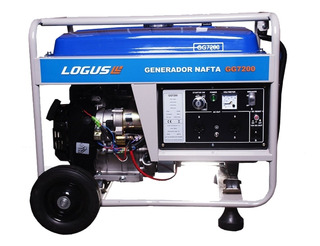 Generador portátil Logus GG7200 6000W monofásico con tecnología AVR 220V