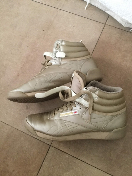 Zapatillas Reebok Clasic Clasicas Doradas