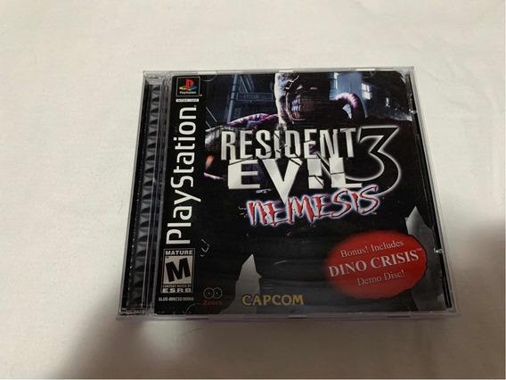 Resident Evil 3 Nemesis Ps1 Original Americano