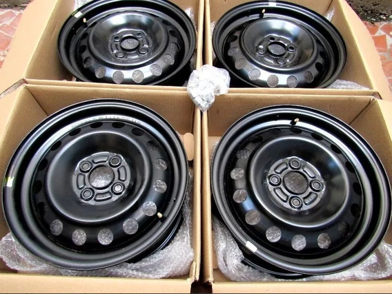 Roda De Ferro Aro 15 - 4x100 - Honda Fit City Civic Original