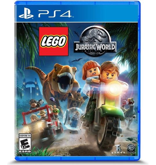 Lego Jurassic World Ps4 Mídia Física Lacrado