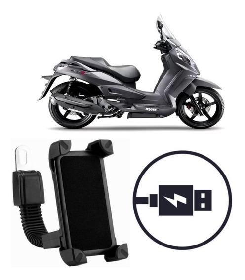 Suporte Carregador Celular Moto Dafra Citycom 300i