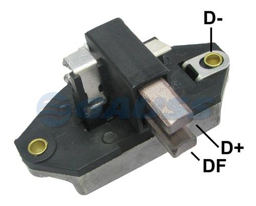 Regulador De Alternador Tipo Bosch 12v. Campo 4a. Max