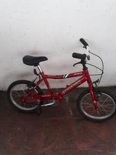 Bicicleta R 12 Musetta Niño Bmx Acero Roja Usada
