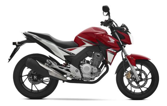 Honda Cb 250 Twister Roja 2020 0km