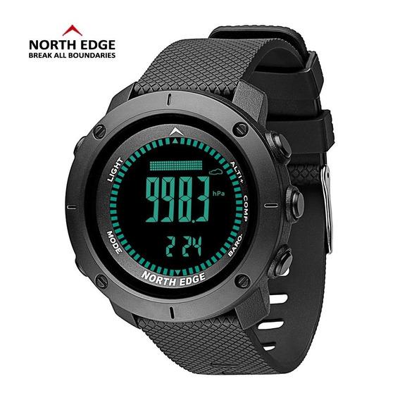 Relógio Masculino North Edge Apache Altímetro Bússola E Mais