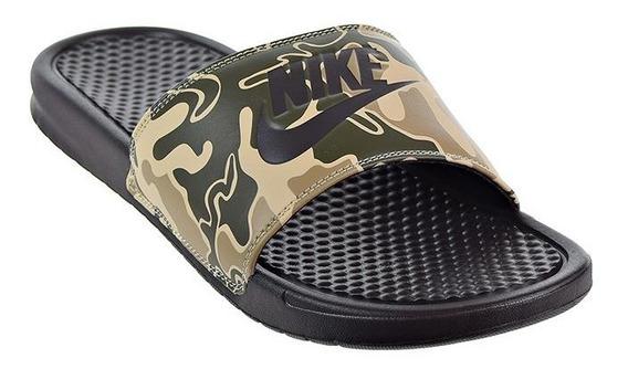 Ojotas Nike Benassi Just Do It Print Us8