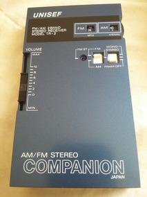 Colecionador Walkman Unisef Tr-2 Radio Am/ Fm Anos 80.