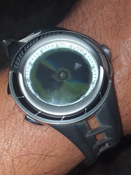 Relógio adidas Adp1039 Lindo Visor Trincado Puls Quebrado