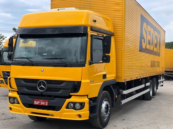 Mb Atego 2426 Ano 2014 6x2 Chassis Placa Bap.3413