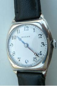 Reloj Rolex Militar Plata Solido Suizo 15 Rubis1933