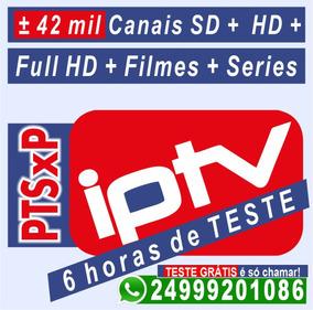 Lista Ip-tv Mensal- Pacote Sem Travas- Leia Descrição