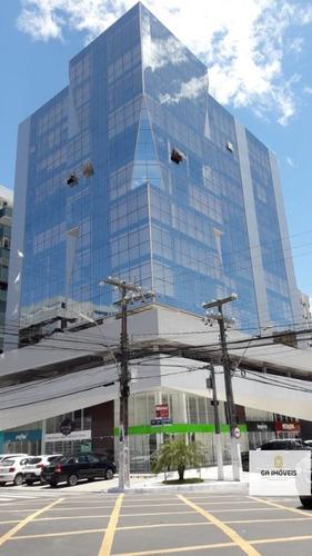 Sala Comercial Com Vista Reformada E Decorada Na Ponta Verde Por 400mil!! - 497