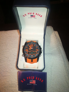 Reloj U.s Polo Assn. Mod 88057 Analog C/funciones,light