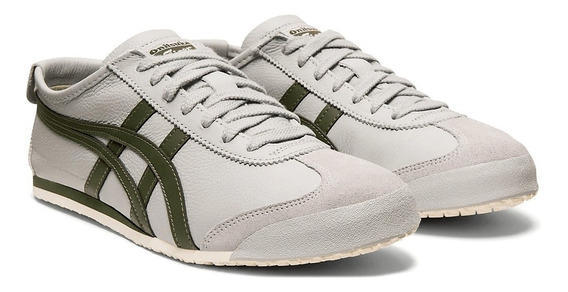 Tênis Mexico 66 Mid Grey/pine Tree Onitsuka Original